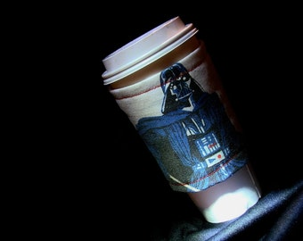 Limited Edition Vintage Darth Vader Eco Friendly Recycled Coffee Cuff Return of the Jedi