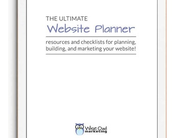 The Ultimate Website Planner & Checklist