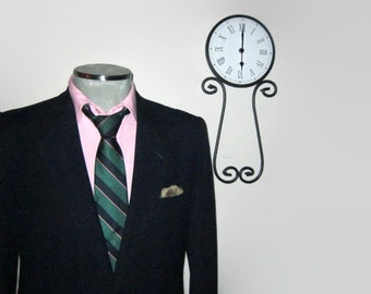 1960s Eaton Birkdale Navy Blazer / 60s Vintage Mens Blazer / Size 40R Medium Med M / Ivy League Mens Suit Jacket / Vintage Men's Clothing