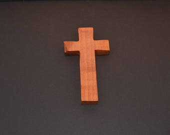Unique Wood Cross; Christian; Cross Wall Decor; Wall Cross; Mesquite; Wedding Gift; Sympathy Gift; Free Ground Shipping USA; cc15-2062017