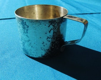 Vintage Child's Silver Cup by Rockford Silverplate Company