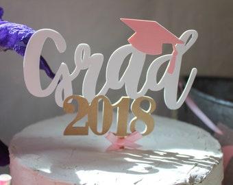 grad cake topper - graduation cake - graduation topper - graduation party - graduation decor - congrats grad cake - congrats cake topper