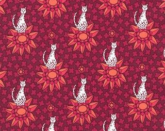 Rhoda Ruth by Elizabeth Hartman for Robert Kaufman Fabrics - 1/2 yard cut - # AZH 15458-107 Petal