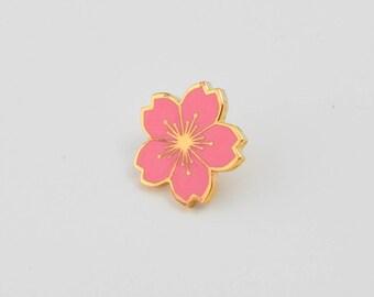 Sakura (Cherry Blossom) Enamel Pin
