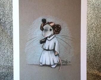 Princess Rattia 5x7 Print