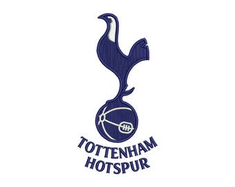 Tottenham Embroidery Design #1 - 2 SIZES