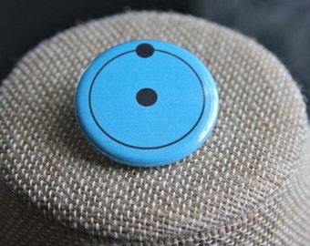 Watchmen Dr. Manhattan Button, Watchmen Dr. Manhattan Pin