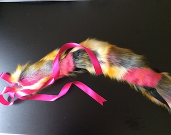"Luxury 21"" Luxury Harlequin Kitten Play Tail"