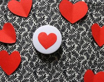Love Heart Badge