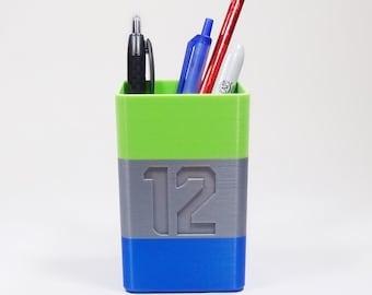 Seahawks 12th Man Pencil / Pen Holder