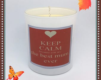 Best MUM Ever Scented Soy Candle