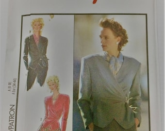 Style sewing pattern 1786 - Misses' fitted and lined jacket