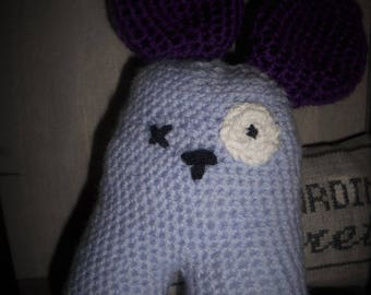 """jojo"" funny crochet toy"