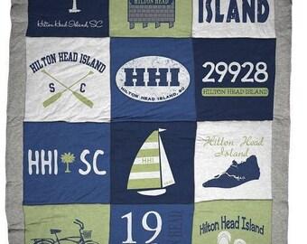 Hilton Head Island HHI Destination Blanket