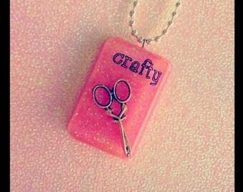 Shear Crafty Necklace