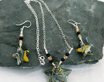Little Star 'Sandstorm' Polymer Clay Jewellery Set
