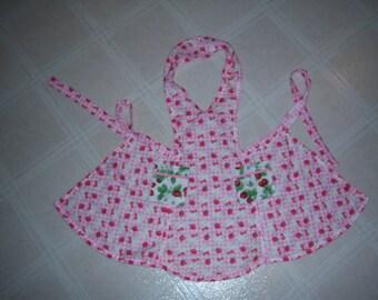 Handmade Child's apron Hello Kitty