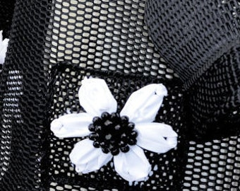 Black Net Bag