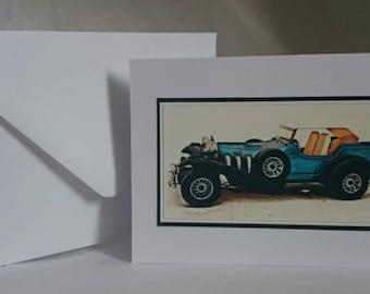 Photography A6 Blank Greetings Card,  Car 2 (C182015)