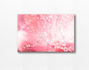 abstract photography canvas flower photography 12x12 24x36 fine art photography floral canvas art wall decor nursery pink canvas wrap large