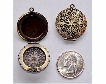 Locket 1pc diffuser pendant Bronze Perfume Locket 26mm empty picture  Locket Scent Locket aroma therapy memmory locket solid perfume 469x