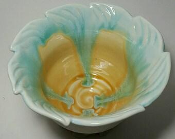 Colorful Ceramic Serving Bowl dinnerware