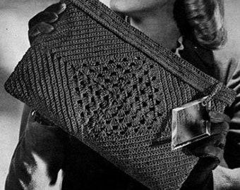 Vintage Purse Crochet Pattern