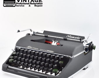 Rare EARLY Olympia SM2 Typewriter Working Black Red Ribbon Mint (Early SM3)