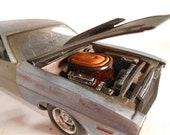Scale Model, Dodge Challenger,Model Car, Classicwrecks, Model Car
