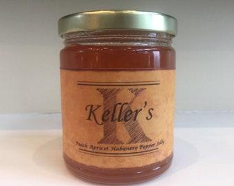 Keller's Peach Apricot Habanero Pepper Jelly