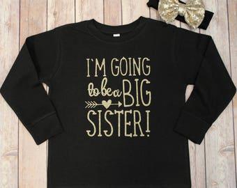 Big sister Shirt, Big Sister Glitter Shirt, Big sister shirt, Personalized Big Sister Shirt, Big Sister Shirt, Big Sister Glitter Shirt