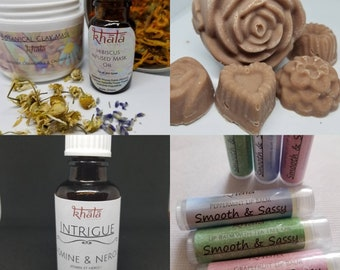 Mother's Day All Natural Soap and Skincare Gift Box