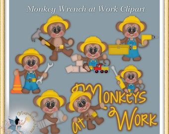 Monkey Wrench Clipart