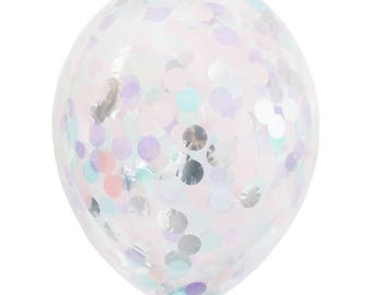 Unicorn Confetti Balloon