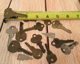15 pc. Vintage Key set