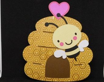 Bee Mine Valentine's Day card