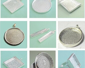 sample  blank  Tray pendant