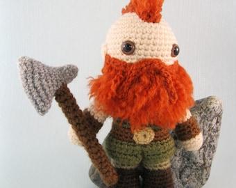 Dwarf, Halfling and Elf - Fantasy Amigurumi Patterns PDF - Crochet Patterns