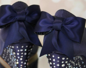 Navy Blue Wedding Shoes, Blue Wedding Shoes, Wedding Wedges, Wedge Wedding Shoes, Something Blue, Something Blue Wedding Accessories, Wedges