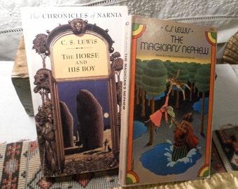 Two C.S. Lewis Vintage Paperbacks 1970s