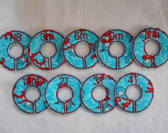 thing 1 thing 2 closet divider set