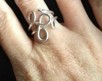 Celtic Adjustable Ring