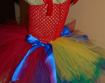 Parrot Tutu dress
