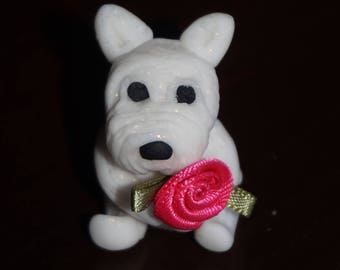 West Highland Terrier Ornament. westie gifts