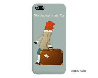 The Catcher in the Rye illustrated Iphone case
