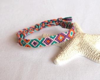 Colorful Friendship Bracelet bracelet woven hippie fashion multicolor friendship bracelet Brasilda Nicole