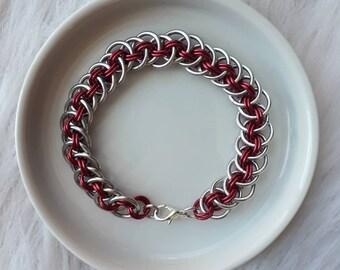 Viper Basket Weave | Chainmaille Bracelet