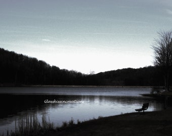 """Twin Lakes- Upper and lower lakes- Fine Art Photography Set of 2 Prints  8 x 10"""""""