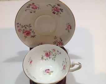 Cartwright & Edwards Victoria Pink Rose Tea Cup and Saucer