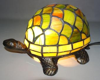 Turtle Tiffany style lamp
